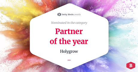 Holygrow nominatie Award 2020